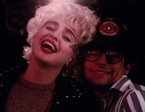Russell Bobbitt and the one and only, Madonna