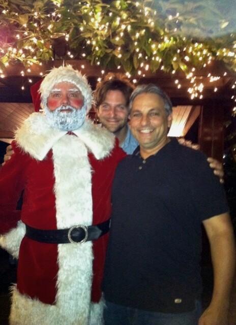 Zack Galifinakis, Bradley Cooper and Russell Bobbitt